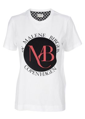By Malene Birger - T-shirt - Aggitas - Hvid