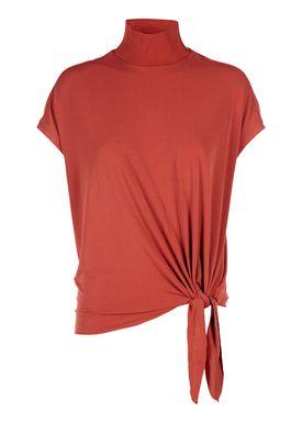 By Malene Birger - T-shirt - Bulon - Autumn Red