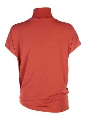 By Malene Birger - T-shirt - Bulon - Autumn Red