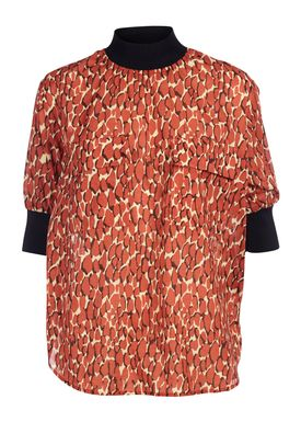 By Malene Birger - T-shirt - Cobolias - Autumn Red