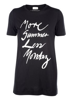 By Malene Birger - T-shirt - Everya - Sort