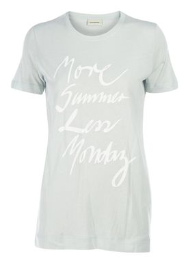 By Malene Birger - T-shirt - Everya - Mint (Light Sky)