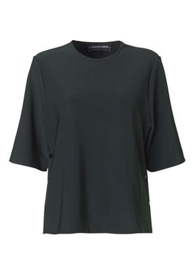By Malene Birger - T-shirt - Pamelas - Scarab Green