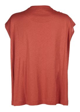 By Malene Birger - T-shirt - Vandun - Autumn Red