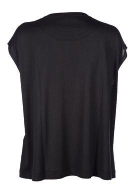 By Malene Birger - T-shirt - Vandun - Sort