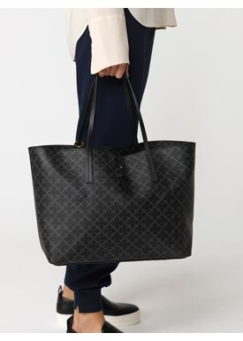 By Malene Birger - Taske - Grineeh Bag - Charcoal Signature