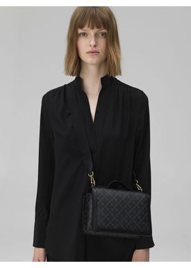By Malene Birger - Bag - Loenna - Charcoal Signature