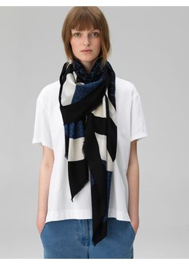By Malene Birger - Scarf - Fillia - Skyline Blue