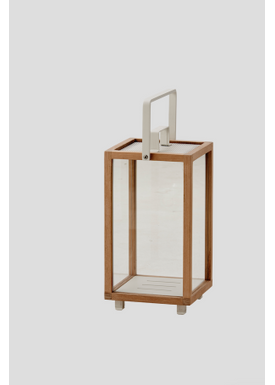 Cane-line - Lykta - Lighthouse Outdoor Lantern - Teak Small