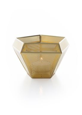 Tom Dixon - Candle Holder - Cell  - Brass