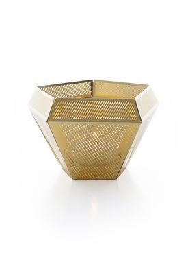 Tom Dixon - Lyseholder - Cell Light Holder - Messing