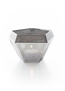 Tom Dixon - Candle Holder - Cell  - Steel