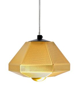 Tom Dixon - Lampe - Cell Short Pendant - Messing