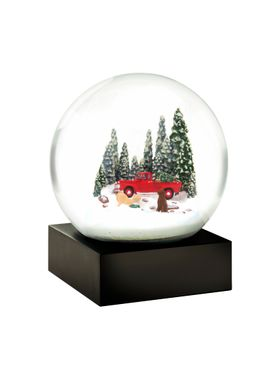 CoolSnowGlobes - SnowGlobe - CoolSnowGlobes - Red Truck W/Dog