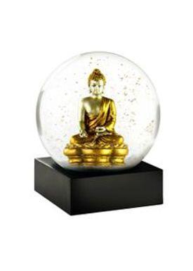CoolSnowGlobes - Snekugle - CoolSnowGlobes - Gold Buddha