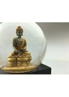 CoolSnowGlobes - SnowGlobe - CoolSnowGlobes - Gold Buddha