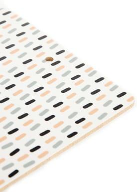 Seventy Tree - Skærebræt - Cutting Board Print - Mint Print