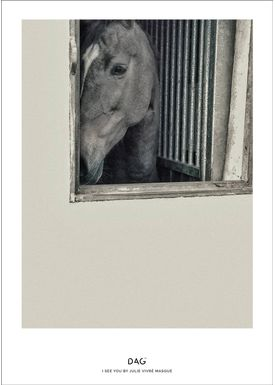DAG - Poster - A little collection of life by Julie Vivré Masque - I SEE YOU BY