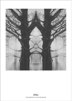DAG - Poster - A little collection of life by Julie Vivré Masque - TREE MIRROR