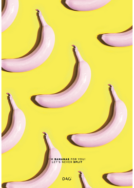 DAG - Poster - The yellow ones - I'm bananas