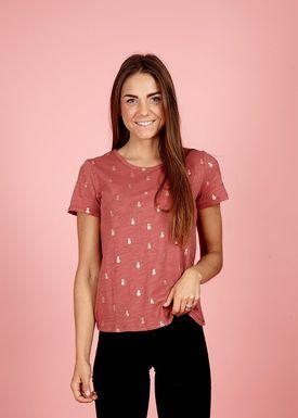 DAPHNEA - T-shirt - Commo - Rust