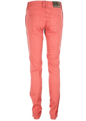 Day Racoon Piped Jeans Pink Crush