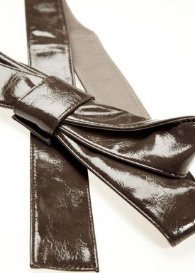 Designers Remix - Belt - Knotbow - Brown