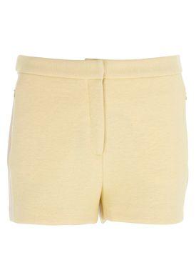 Designers Remix - Shorts - Lifa Shorts - Yellow/Nude