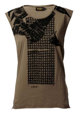 Cerron-a Maglietta T-shirt Brun