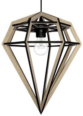 Tvåfota Designduo - Lampe - Döden Lampe - Large - Neutral