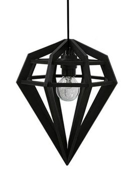 Tvåfota Designduo - Lampe - Döden Lampe - Small - Sort