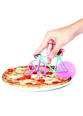 Doiy Design - Pizzahjul - Fixie - Pizza Cutter - Watermelon