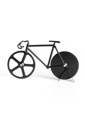 Doiy Design - Pizzahjul - Fixie - Pizza Cutter - Pure Black