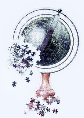 Doiy Design - Pussel - Slow Puzzle - Globe