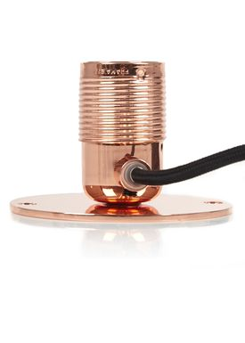 FRAMA - Lamp - E27 Wall Lamp - Copper