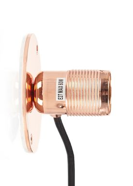 FRAMA - Lampe - E27 Væglampe - Kobber