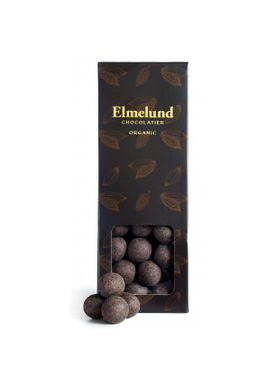 Elmelund Chocolatier - Choclate - Organic Dragee - Whitechocolate/Liquirce