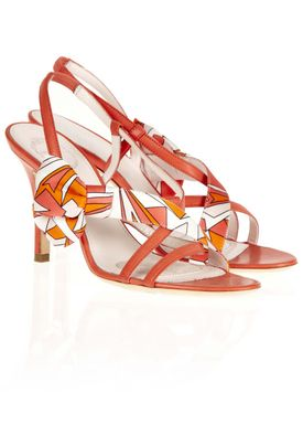 793848 Stilettos Orange