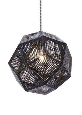 Tom Dixon - Lampe - Etch Pendant - Sort