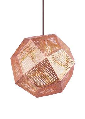 Tom Dixon - Lampe - Etch Pendant - Kobber