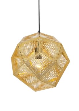 Tom Dixon - Lampe - Etch Pendant - Messing