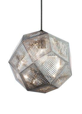 Tom Dixon - Lampe - Etch Pendant - Stål