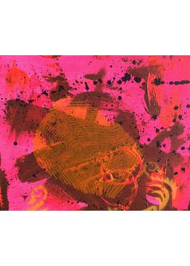 Falentin Art - Painting - Ghost - Red
