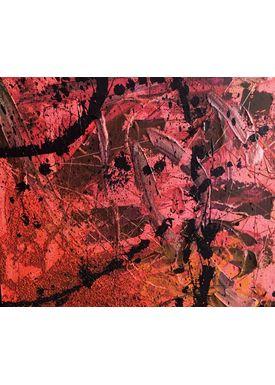 Falentin Art - Painting - Typhoon - Red
