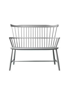 FDB Møbler / Furniture - Bench - J52D by Børge Mogensen - Grey
