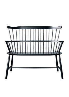 FDB Møbler / Furniture - Bench - J52D by Børge Mogensen - Black