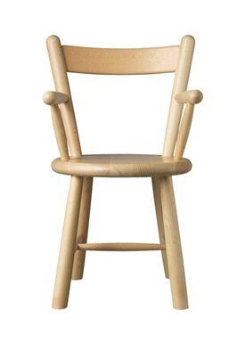 FDB Møbler / Furniture - Barnstol - P9 by Børge Mogensen - Beech / Natural