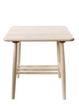 FDB Møbler / Furniture - Table - D20 af Poul M. Volther - Square - Nature