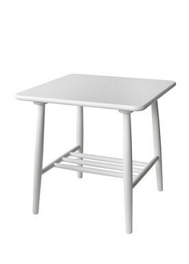 FDB Møbler / Furniture - Table - D20 af Poul M. Volther - Square - White