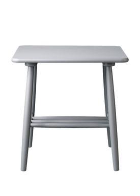 FDB Møbler / Furniture - Table - D20 af Poul M. Volther - Square - Grey